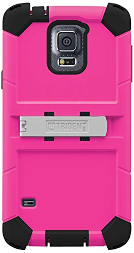 Afc Trident, Inc - Trident Kraken Ams Carrying Case (Holster) For Smartphone - Pink - Shock Absorbing, Vibration Resistant, Rain Resistant, Wind Resistant, Drop Resistant - Thermoplastic Elastomer (Tpe) 'Product Category: Accessories/Carrying Cases'