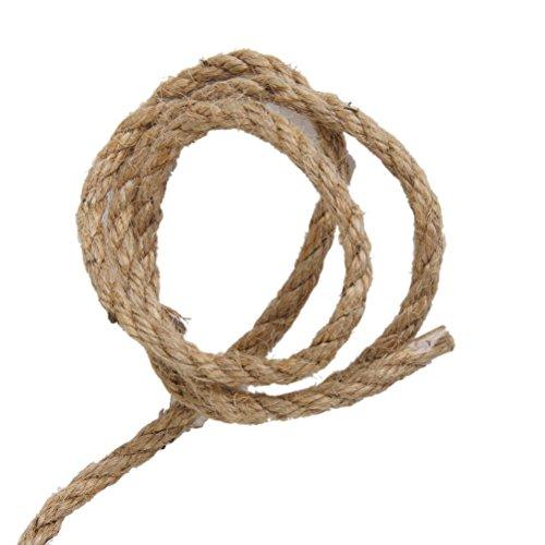 15 metros de cuerda trenzada de camo de yute cuerda de yute - Cuerda De Yute