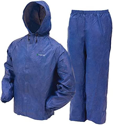 FROGG TOGGS Extremely-Lite2 Water-Resistant Breathable Rain Go well with, Males's, Ladies's, and Youth Types Accessible