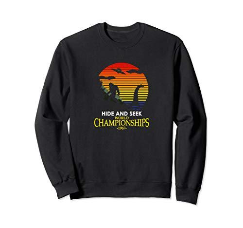 Hide and Seek World Championship Nessie VS Yeti Bigfoot Sweatshirt