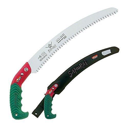 Samurai Ichiban 13' Curved Pruning Saw with Scabbard (GC-330-LH)
