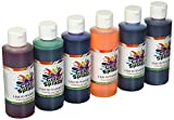 S&S Worldwide PT3265 Color Splash! Liquid Watercolor Paint, 8 oz. (Pack of 6)