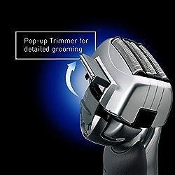 Panasonic ES-LA63-S Arc4 Men's Electric Razor, 4-Blade Cordless with Wet/Dry Shaver Convenience  Image 5
