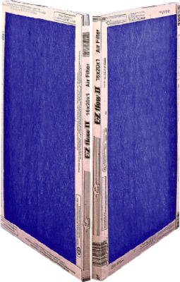 16x25x1, Percisionaire Ez Flow Ii Front Panel Merv 4, 10055.011625, Pack12