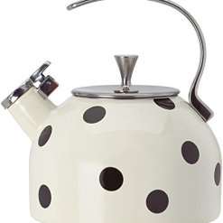 Kate Spade Deco Black Dot Kettle