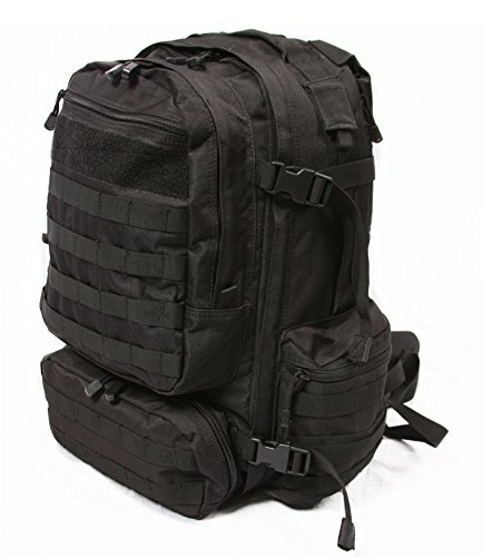 LA Police Gear Operator Tactical Backpack (Black)