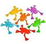 Rhode Island Novelty Plastic Jumping Frogs 144 Pieces Per Order