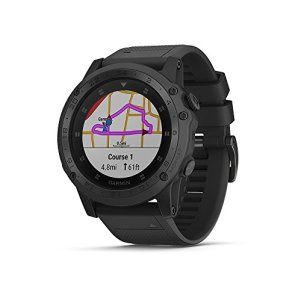 Garmin Tactix Charlie, Premium GPS Watch with Tactical Functionality, Night Vision Goggle Compatibility, TOPO Mapping and Other Tactical-specific Features
