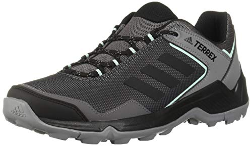 adidas outdoor Women's Terrex EASTRAIL Hiking Boot, Grey Four/Black/Clear Mint, 8.5 M US
