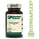 Standard Process - Congaplex - Source of Antioxidant Vitamin C, Supports Healthy Immune System Function, 900 IU Vitamin A, 6 mg Vitamin C, 80 mg Calcium, 15 mg Magnesium - 150 Capsules
