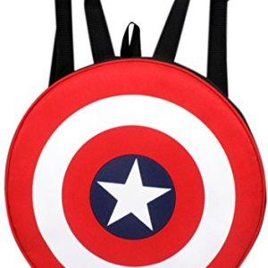 Avengers Captain America Shield School Backpack