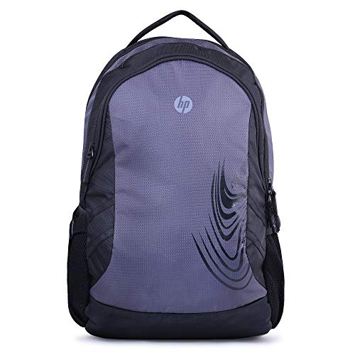 417C0cJVb1L - HP 4ZG28PA 15.6-inch Crystal Laptop Backpack (Gray)