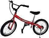 Glide Bikes Kid's Go Glider Balance Bike, Red, 16-Inch