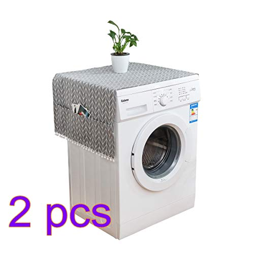 Fridge Dust Cover Multi-purpose Washing Machine Top Cover Refrigerator Dust Proof Cover
