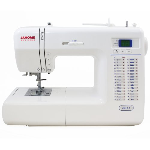Janome 8077 Computerized Sewing Machine with 30 Built-In Stitches