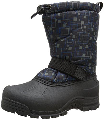 Northside Frosty Winter Boot (Toddler/Little Kid/Big Kid),Black/Blue,6 M US Big Kid