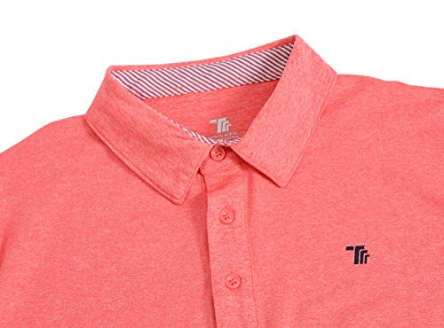 JINSHI Men's Athletic Loose Performance Fit Short Sleeve Classic Golf Polo Shirt 7 Fashion Online Shop gifts for her gifts for him womens full figure