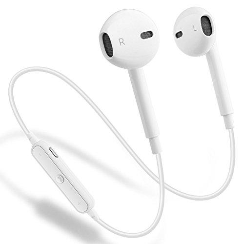 Wireless Bluetooth Headphones, GEJIN Bluetooth 4.1 Waterproof Sports Earphones, Noise Cancelling Earbuds