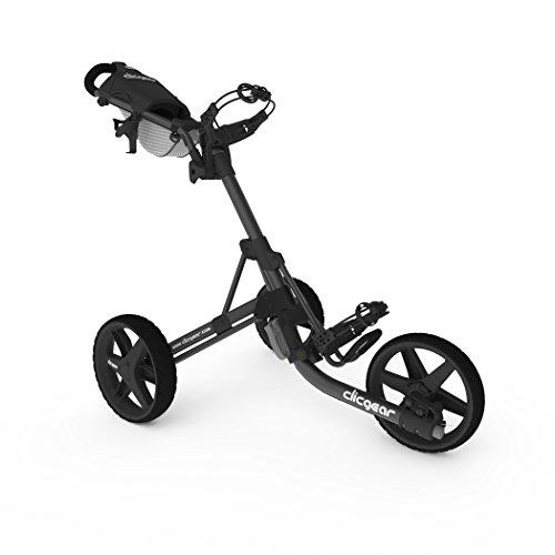 Clicgear Model 3.5+ | 3-Wheel Golf Push Cart (Charcoal/Black)