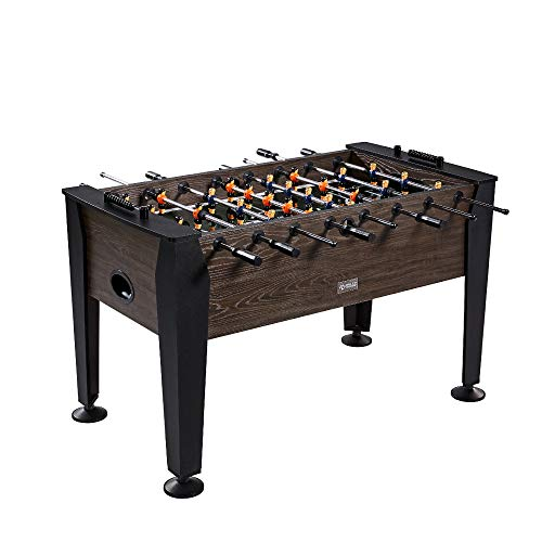 Rally and Roar Foosball Table Game - 56' Standard Size Fun, Multi Person Table Soccer Adults, Kids -...