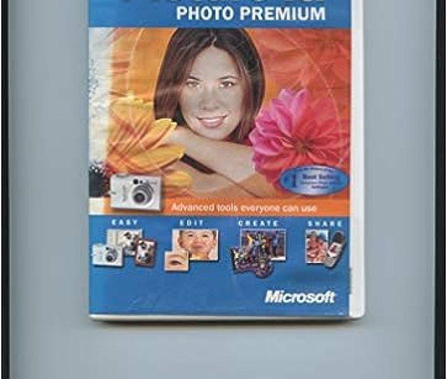 Picture It Photo Premium Version   Cd Software Microsoft