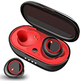 Wireless Earbuds Bluetooth 5.0 Headphones [2020 Latest] in-Ear 3D Stereo Wireless Earphones IPX7 Waterproof 28H Play Time,Hand Made Deep Bass for Sport,50% Enhancer Than 2019 Edition