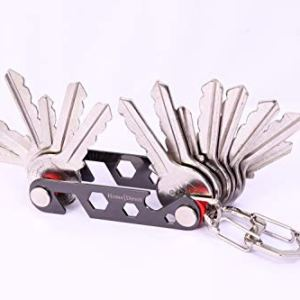 Best Key Organizer with Built-in Multifunction Holds
