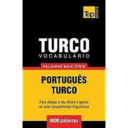 Vocabulario Portugues-Turco - 9000 Palavras Mais Uteis