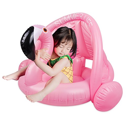 Meland Baby Float - Inflatable Flamingo...