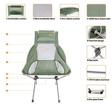 Nice-C-Ultralight-High-Back-Folding-Camping-Chair-with-Headrest-Outdoor-Backpacking-Compact-Heavy-Duty-Outdoor-Camping-BBQ-Beach-Travel-Picnic-Festival-with-Carry-Bag