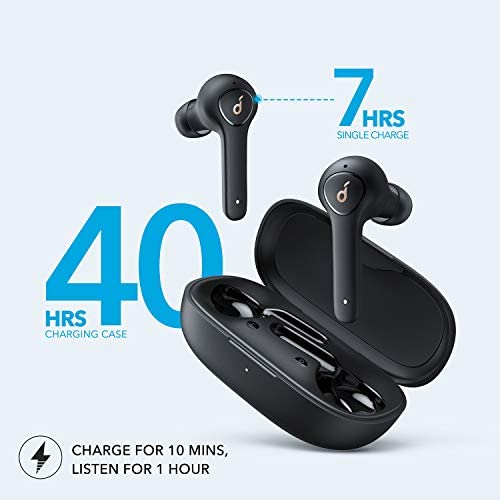 Anker Soundcore Life P2 True Wireless Earbuds with 4 Microphones, CVC 8.0 Noise Reduction, aptX Audio, Graphene Driver, USB C, 40H Playtime, IPX7 Waterproof, Wireless Earphones for Work, Home Office 15