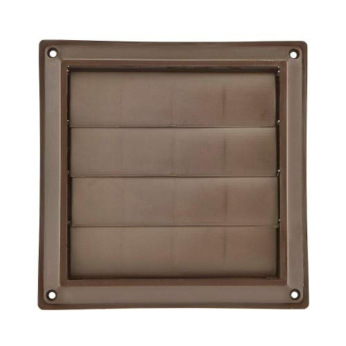 Lambro Industries 361B 6' Brown Plastic Louver Vent