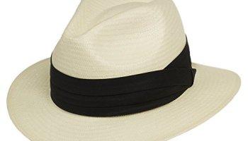 96600ded23a Fedora GULLPORT Reward Classic Straw Panama Hat Exotic Feather ...