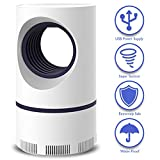 GSNOW 2019 Upgraded Electric Bug Zapper Photocatalyst Home LED Light Mosquito Killer Lamp Indoor Effective on Flying Insect, Trap Pest Catcher Control Inhaler Attractant with USB Quiet