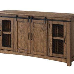 Martin Svensson Home 90903 Rustic 70″ TV Stand | Natural
