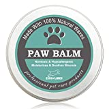 EXPAWLORER Paw Balm for Dogs and Cats, 100% Organic and Natural Paw Wax Protection, Heal and Repair Damaged Dog Paws