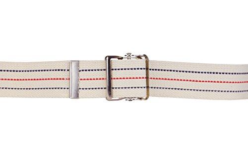 Premium Gait Belt with Metal Buckle - Beige 60'L x 2'W