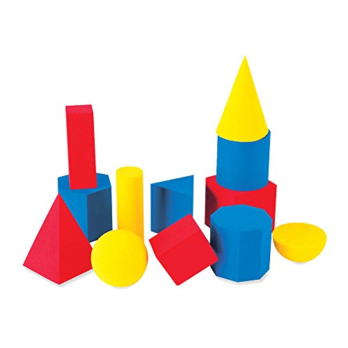 ETA hand2mind Foam Geometric Solids (Set of 12)