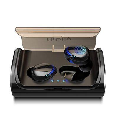 Prezzo 49,99 Arbily Auricolari Bluetooth Cuffie Wireless con 3000 mAh Scatola Ricarica Portatile,Auricolare Hi-Fi Stereo Invisibile Leggeri,Earbuds Palestra Sport Gym con Microfono