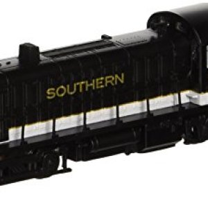 Bachmann Industries Alco RS-3 Locomotive Southern 2137 (Black, Grey and Dulux Gold) N Scale – DCC on Board 418Bt0iNc3L