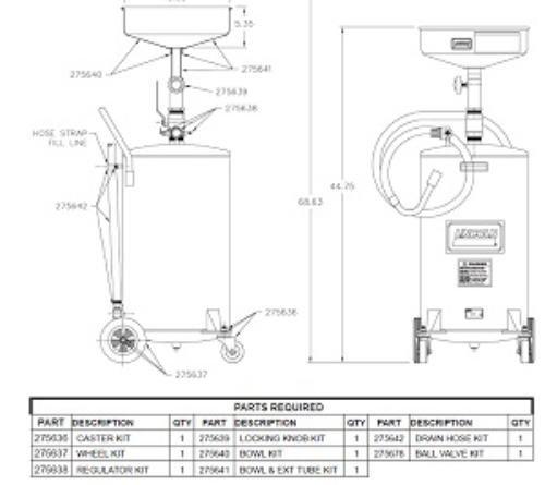 Lincoln Replacement Hose Lni 275642 Automotive Car Care Tools And Equipment Com