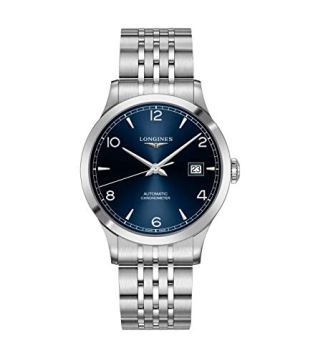 LONGINES OROLOGIO Record Collection Automatic COSC Blue DIAL L2.821.4.96.6