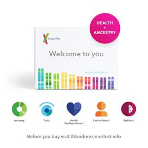 23andMe Health + Ancestry Service: Personal Genetic DNA Test Including Health Predispositions, Carrier Status, Wellness… 6