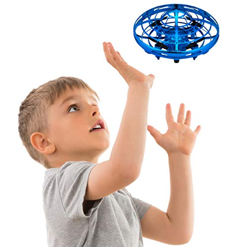 "Drones for Kids Mini Quadcopter Drone – ""Force1 Scoot"" Hands Free Hover Drone w/ 3 Micro Drone Sensors for Autopilot for Beginner Drones Flying Toys"