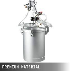 VEVOR-Paint-Tank-15L-4-Gallon-Pressure-Spray-Gun-with-40mm-Nozzle-Regulator-Pressure-Pot-Paint-Sprayer-Industrial-Painting-Painter-15L-40mm