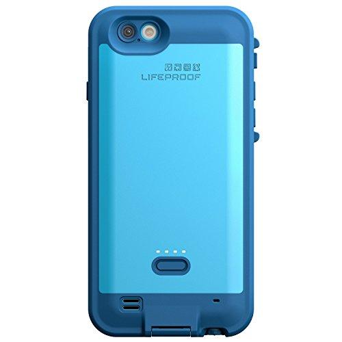Lifeproof FRĒ POWER iPhone 6/6s (4.7' Version) Waterproof Battery Case - Retail Packaging - BASE JUMP BLUE (BASE BLUE/SNOWCONE BLUE)