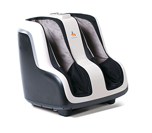 Human Touch Sol' Foot and Calf Shiatsu Massager with Patented Figure-8 Technology, Heat, Vibration, and Intensity Setting