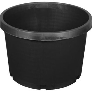 10 gallon black planters pot