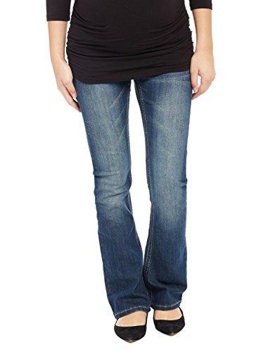 999c21dd11bea Motherhood Secret Fit Belly Stitched Pocket Boot Cut Maternity Jeans ...