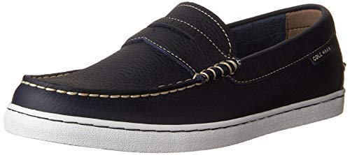 Cole Haan Men's Pinch Weekender Loafer, Peacoat Leather, 9 M US